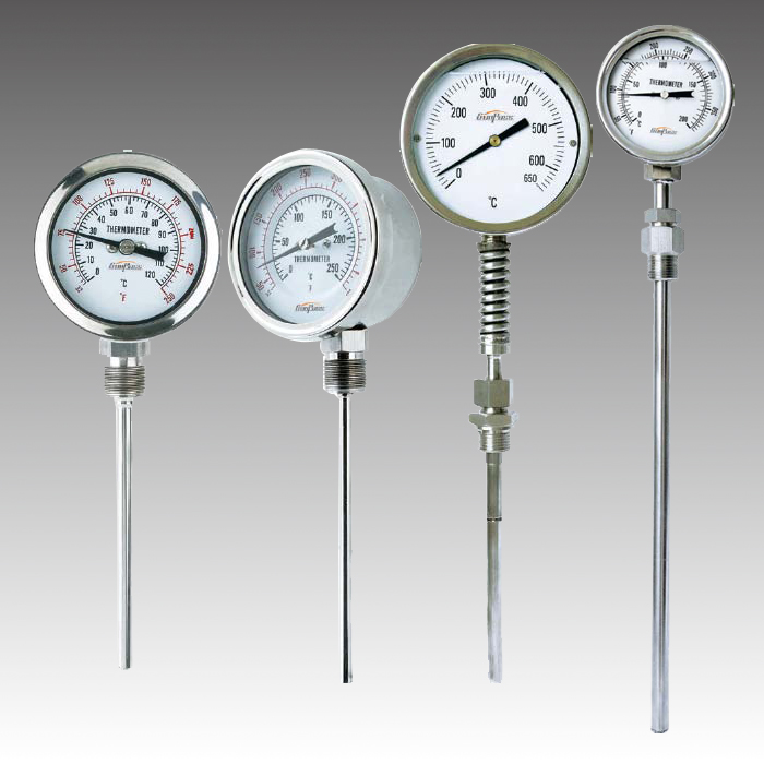 Bottom Stainless Thermometer