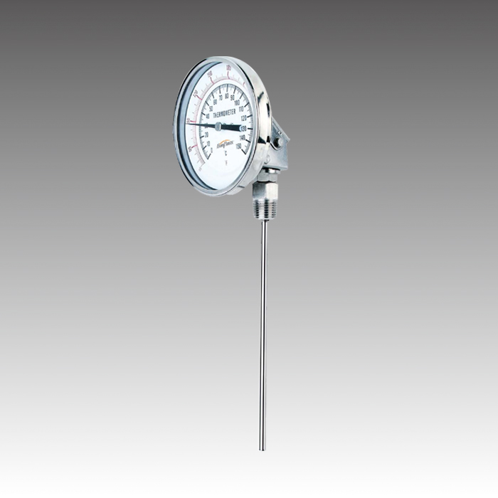 Universally Adjustable Bimetal Dial Thermometer
